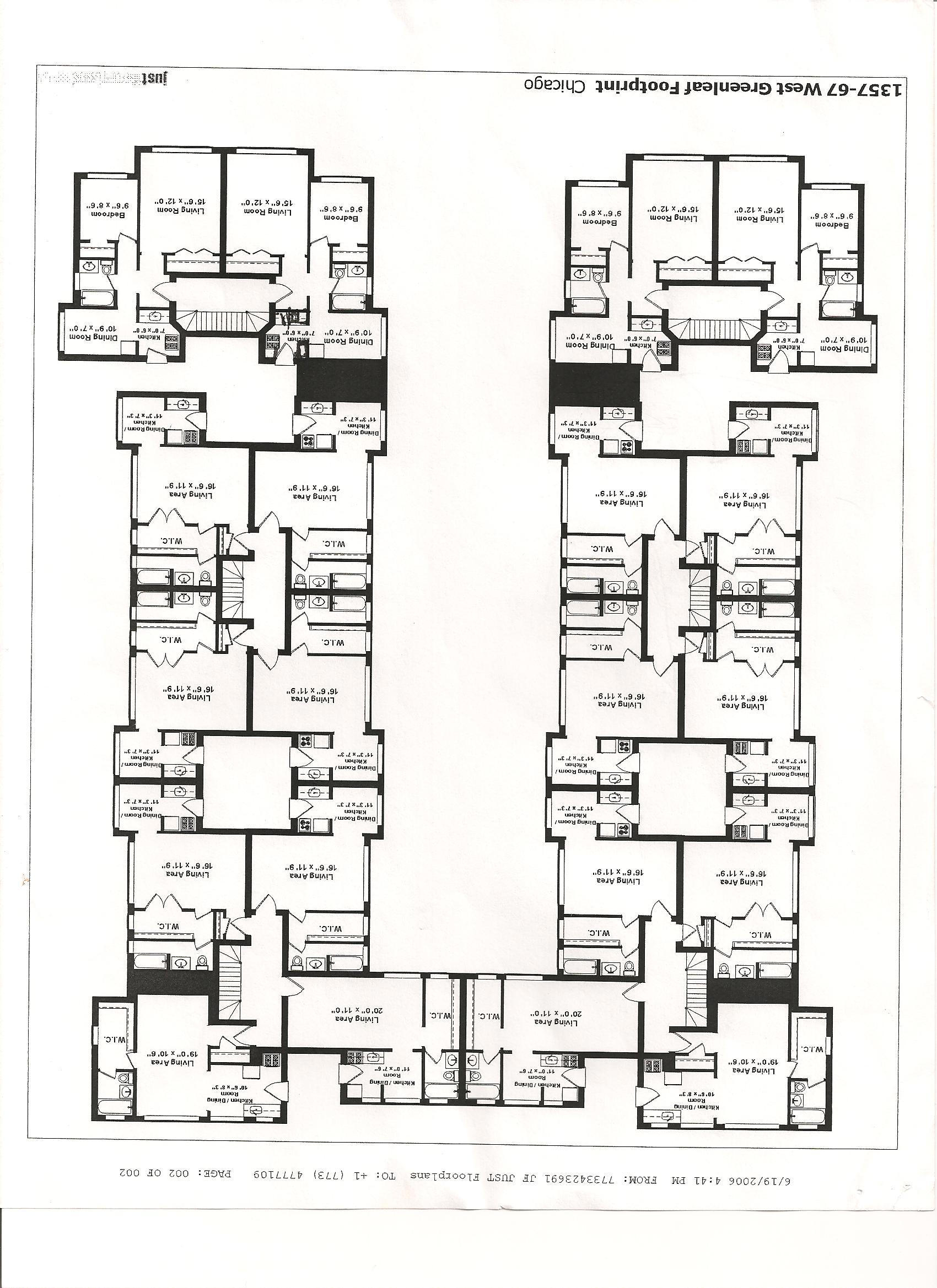 1357-67 w  greenleaf-green briar apartments - studio